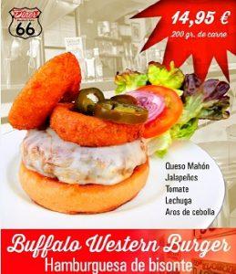 Diner presenta nueva hamburguesa de Bufalo
