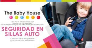 The Baby House fomenta la seguridad en sillas de auto con una charla informativa