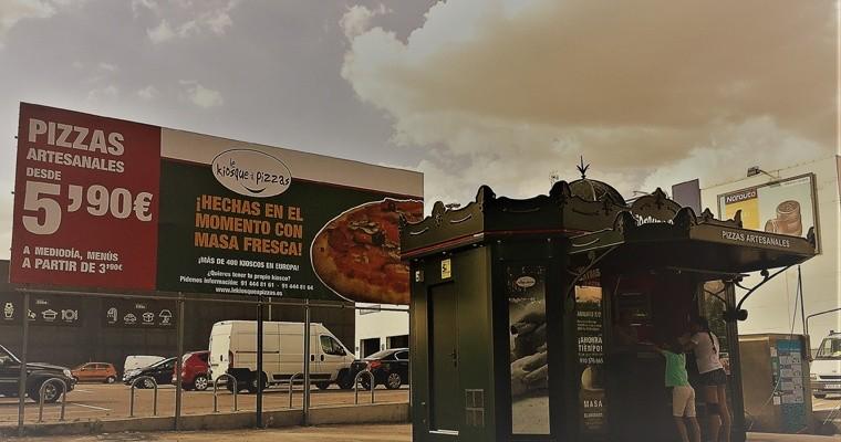 La franquicia Le Kiosque à Pizzas estrena su primer kiosco en España